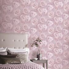 ARTHOUSE BLUSH PINK ROSE FLORAL FLOWERS HEAVYWEIGHT QUALITY WALLPAPER 623302