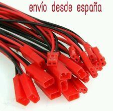 JST 5 pares (10 unidades) 150mm conector y cable JST para baterías lipo esc