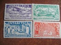Polar post service 1954 ships polar expedition pinguins MLH