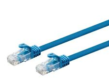 100ft Blue Cat6 CMP RJ45 Patch Cable Ethernet LAN Network Internet Plenum Rated