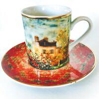 Goebel Demitasse Cup & Saucer Artis Orbis Claude Monet La maison de l'artiste