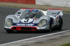Porsche 911 GT 1 Exotic Sport Car Race Concept Vintage 18 Carrera Carousel Silvr