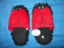 Ladybug Womens Medium Slippers
