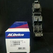 Door Lock and Window Switch Left ACDelco GM Original Equipment 15883318