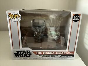 The Mandalorian With The Child Star Wars Funko POP 390