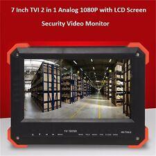 7'' TVI camera tester CCTV tester monitor analog TVI camera testing VGA HDMI NEW