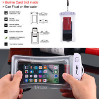 Waterproof Touchscreen Underwater Pouch Dry Bag Case Cover For iPhone Cell Phone