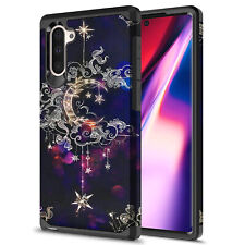 For Samsung Galaxy Note 10 Plus Hybrid Graphic Fashion Colorful Silicone Case