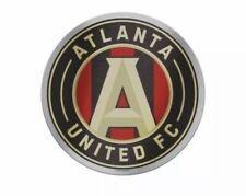 Atlanta United FC WinCraft Red & Black Circular Logo Auto Badge 4x4 New