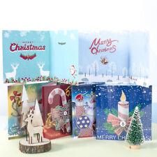 Christmas DIY Handmade Diamond Painting Greeting Card Kit Xmas Card Kids Gift