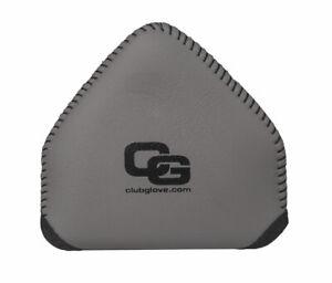 Club Glove Gloveskin 2 Ball Mallet Putter Cover - LEFT HAND - Brushed Metal