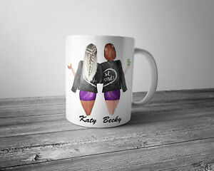 Personalised Best Friends Mug
