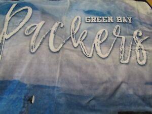 "GREEN BAY PACKERS NFL SUPER SOFT PLUSH WARM NORTHWEST THROW BLANKET 60"" X 80"""