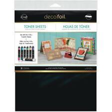 "Deco Foil Toner Sheets 8.5""X11"" 3/Pkg Therm-o-Web Thermoweb #3377"