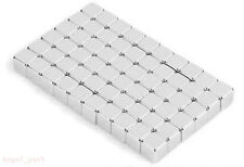 108pcs 3x3x3mm Rare Earth Neodymium Cube Magnets Fasteners Craft Neodym N35