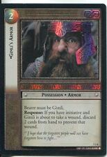 Lord Of The Rings Foil CCG Card RotK 7.U8 Gimli's Armor