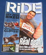RIDE MAGAZINE MARCH 2000 - THE REAL DEAL!