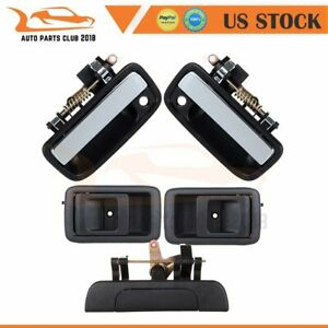 2 Interior 2 Outer Door Handle Front Left Right & Tailgate Fits TOYOTA TACOMA