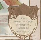 a5  Postcard German Osebud Prayer card 1914 3981a