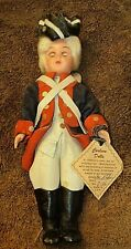 Carlson Revolutionary War American Soldier Doll #8-106 ! W/Tag !