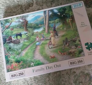 HOP House of Puzzles Family Day Out Puzzle Jigsaw BIG 250 Piece COMPLETE Lovely