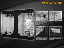Hydroponic Indoor Grow Tent Growing Room 100% Reflective 600D Mylar Metal Corner