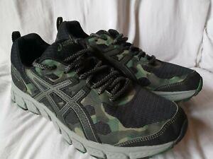 Men's ASICS Gel Scram 4 Trail Running Shoes Green Camo Size 8.5 1011A045