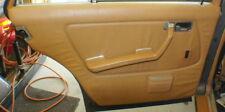 84 Mercedes 300D Left Rear Door  Panel with Armrest Palimino