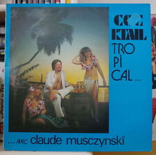 CLAUDE MUSCZYNSKI COCKTAIL TROPICAL SEXY COVER RARE FRENCH  LP DIVOX 1980
