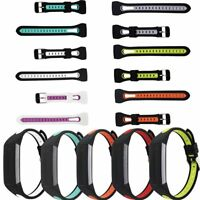 Replacement Silicone Wristband Bracelet Watch Strap Band For Fitbit Charge 3