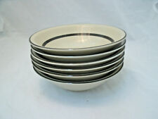 "Sears Hamony House STRAWBERRIES Set of 6-6 5/8"" Cereal Bowls Stoneware 4112 EC"