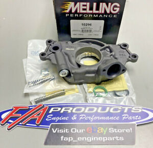 Melling M Select 10296 Chevy LS High Volume Performance Oil Pump LS1 LS2 LS3