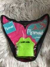 New listing Finis Mermaid Tail Monofin Pink Glitter Sparkle Swimming Fin Youth Kids Pool Bag
