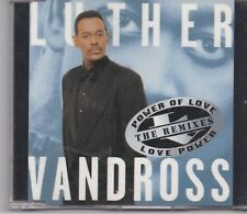 Luther Vandross-Power Of Love The Remixes cd maxi single 7 tracks