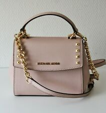 NEW Michael Kors Shoulder Bag Karla Mini Conv Th Crossbody Blossom Pink
