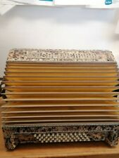 More details for vintage 1930's casali verona mother of pearl inlay accordion collect po12