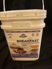 Augason Farms Breakfast Emergency Food Supply Pail - 11lbs. 162 Servings