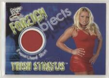 2001 Fleer WWF Wrestlemania Foreign Objects Trish Stratus Rookie