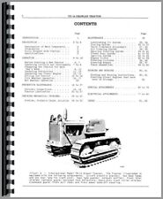 Operators Manual International Harvester Td14 Crawler