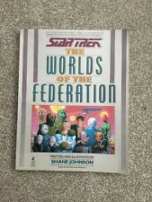 STAR TREK THE WORLDS OF THE FEDERATION Book