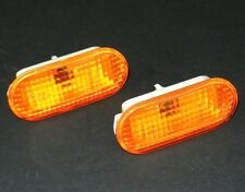 VW GOLF PASSAT POLO BORA SHARAN SEAT LEON TOLEDO IBIZA INDICATOR PAIR SET AMBER