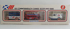 VEHICLES : XIII COMMONWEALTH GAMES SCOTLAND 1986 DIE CAST SET MADE BY LLEDO (DT)
