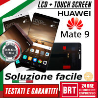 DISPLAY LCD+TOUCH SCREEN HUAWEI MATE 9 MHA-L29 MHA-L09 VETRO SCHERMO NO FRAME!!!
