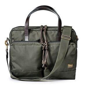 Filson Bag - {Filson Dryden Briefcase} - Laptop - Green, Navy, Whiskey - BNWT
