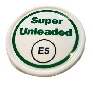 1 x E5 Super Unleaded Cap for ZVA Nozzles, Badge
