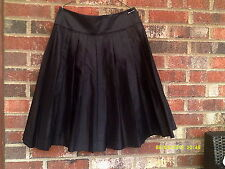 Skirt, Pleated, wide panel waist pleated skirt.....size12