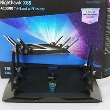 NETGEAR R7900P-100NAS Nighthawk X6S AC3000 Tri-Band Smart WiFi Router