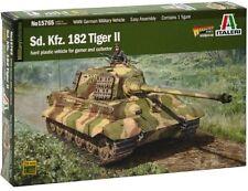 ITALERI 1:56 15765 : carro armato sd.kfz.182 Tiger II
