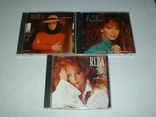 Reba McEntire Music CD's Lot of THREE (3) CD's Excellent Condition