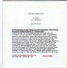 (FG505) The Raveonettes, Bang! - 2009 DJ CD